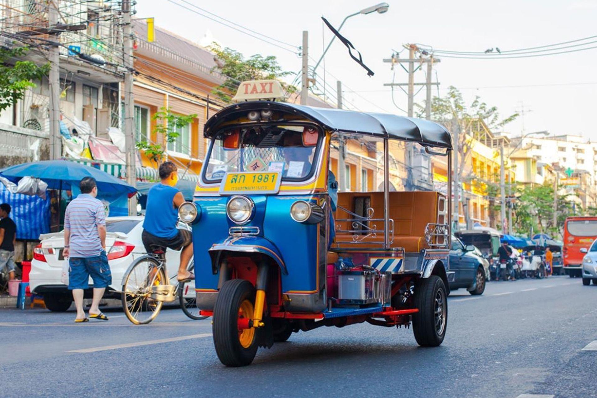 Phương tiện di chuyển tại Thái Lan