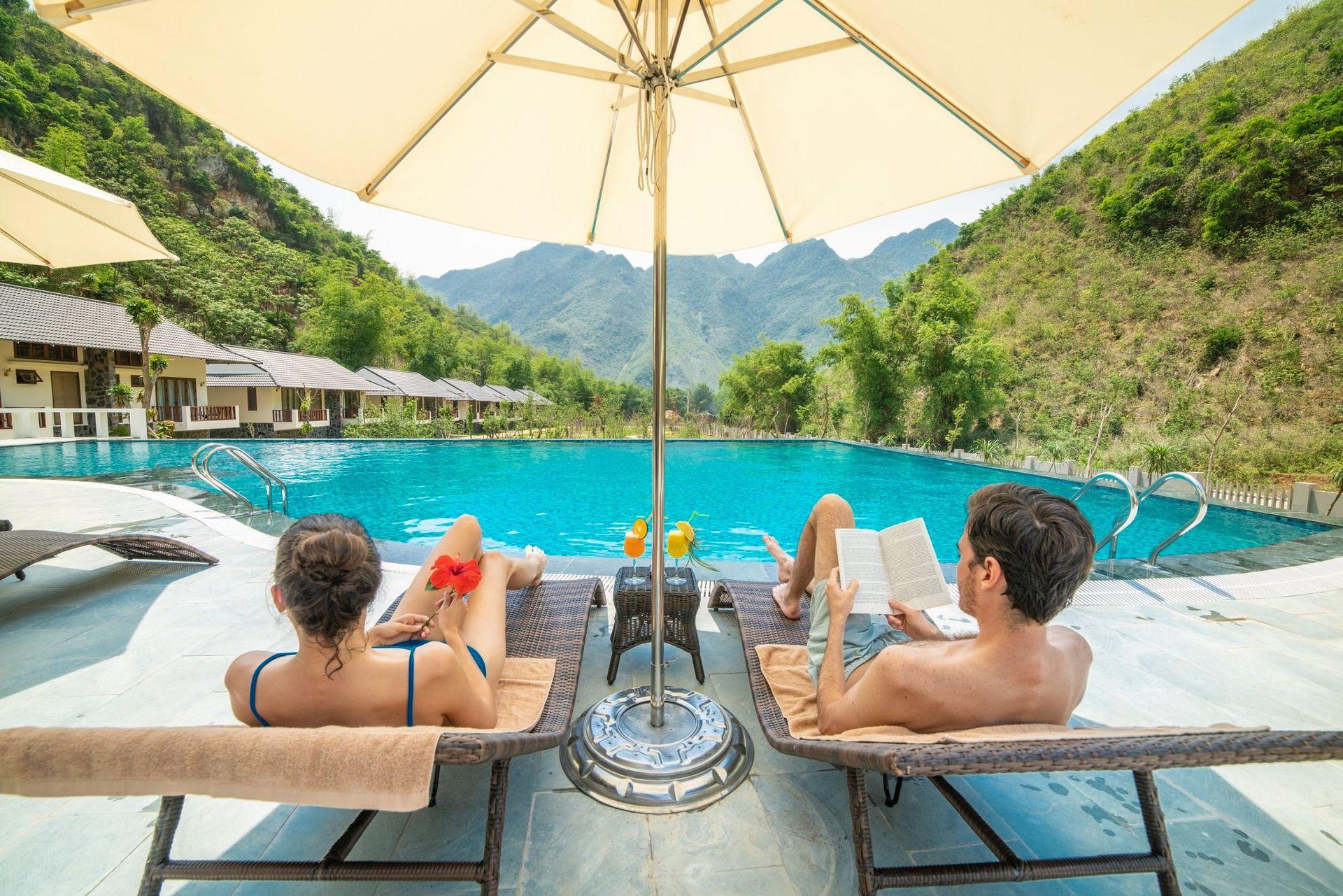 be boi mai chau moutain view resort hoa binh