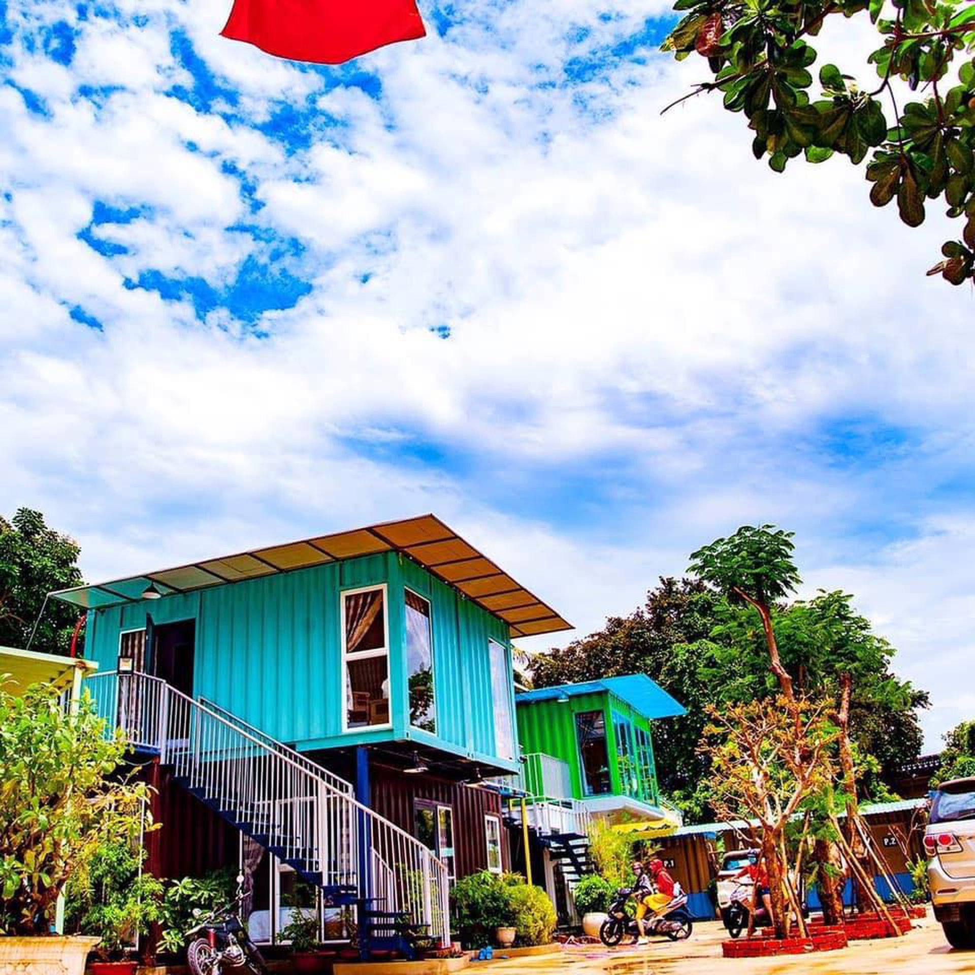 container homestay vung tau dep