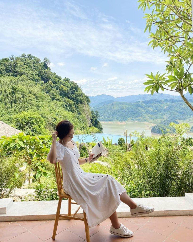 goc chup checkin bakhan village resort hoa binh