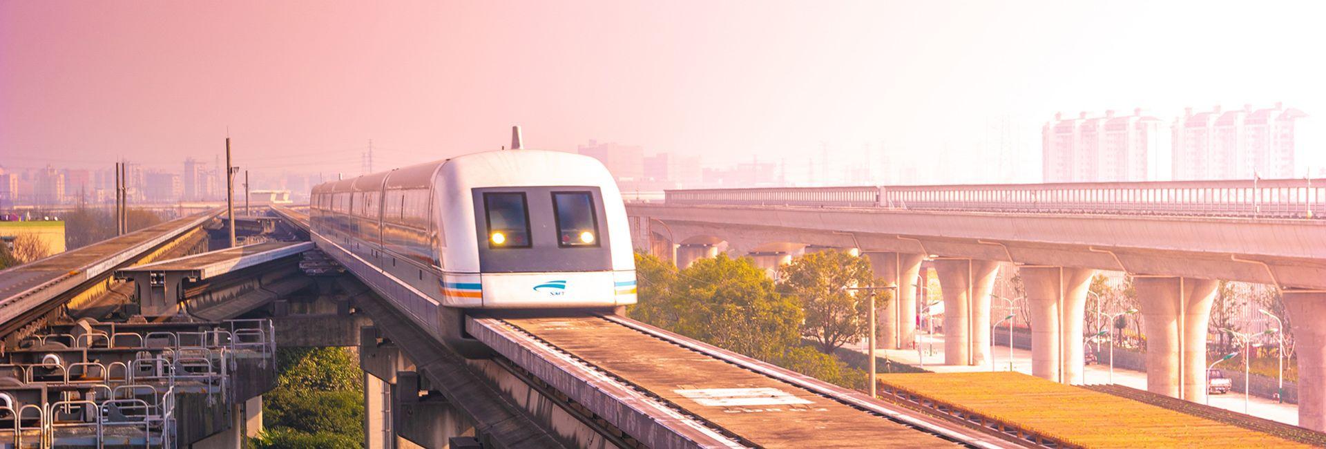Tàu Maglev Thượng Hải - Chuyến tàu nhanh nhất thế giới
