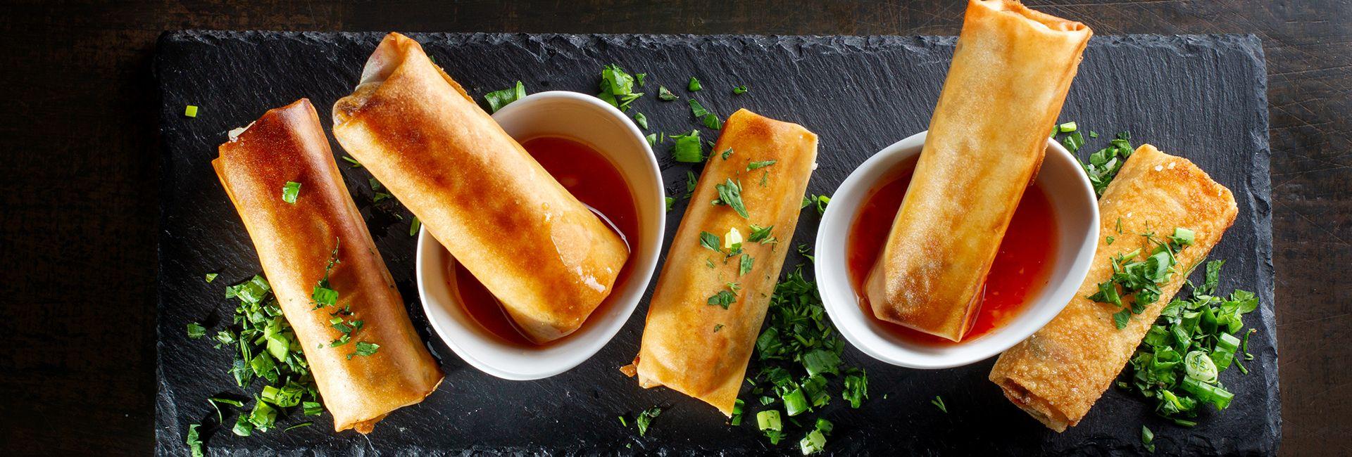 Ram cuốn cải - hương vị lạ của ẩm thực Đà Nẵng