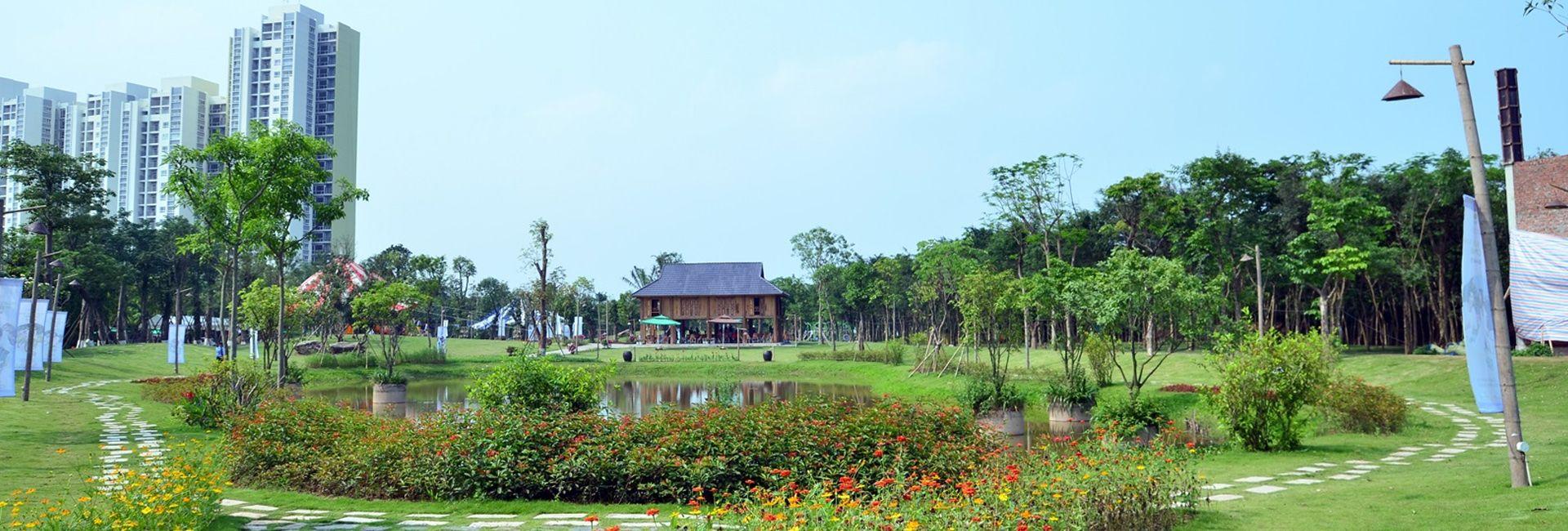 Ecopark Hà Nội - Điểm dã ngoại cuối tuần hấp dẫn