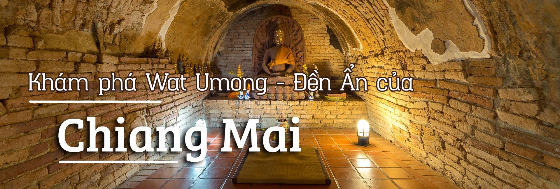 Khám phá Wat Umong - Đền Ẩn của Chiang Mai