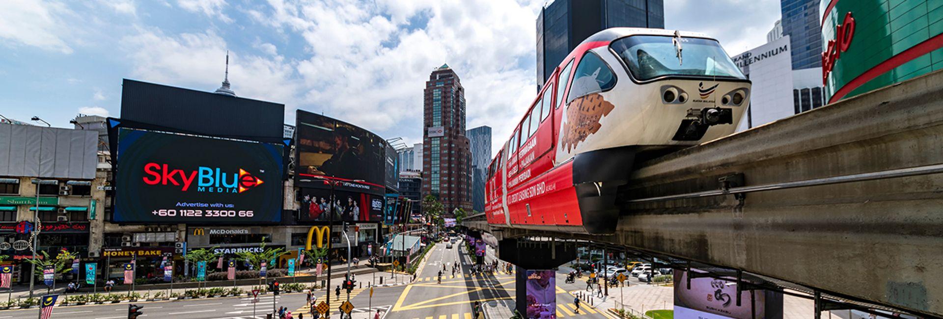 Top 6 phương tiện di chuyển phổ biến tại Malaysia