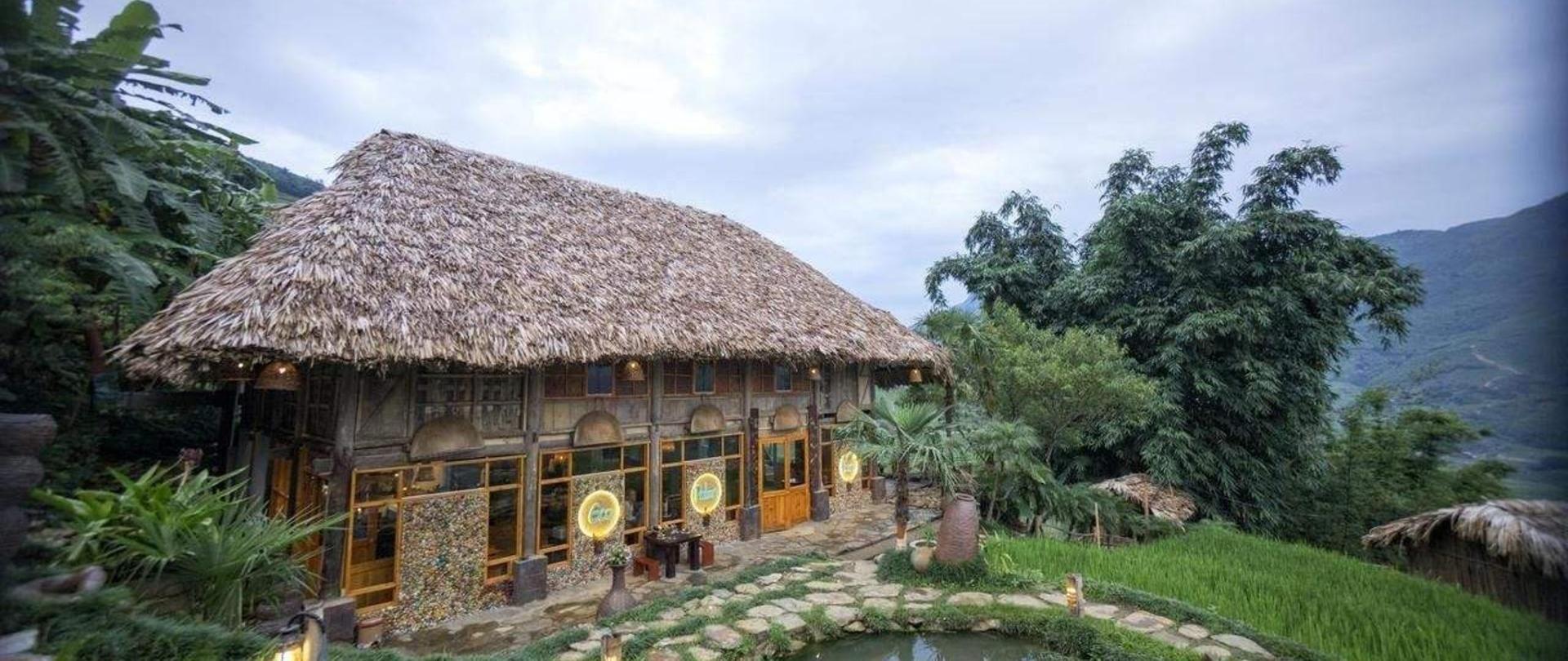 khuon vien eco palms house homestay sapa