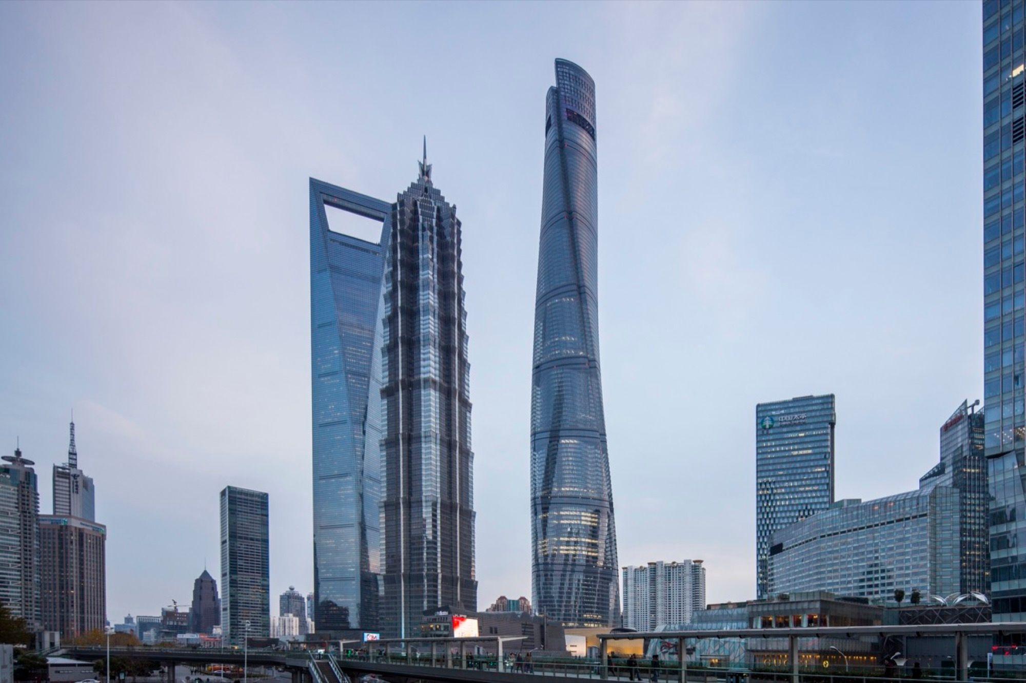 Kiến trúc tháp Thượng Hải