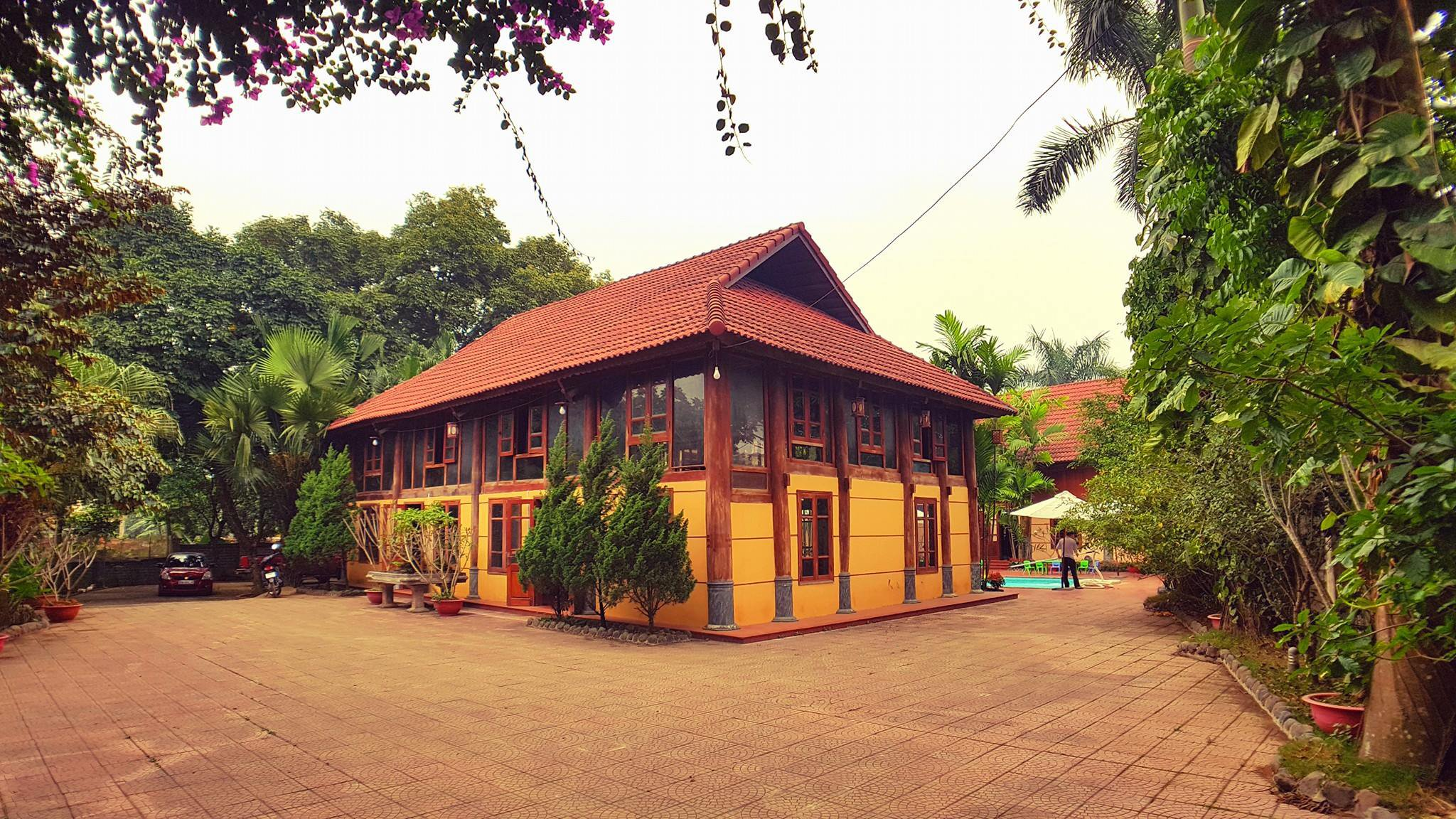khuon vien country house homestay thach that ha noi