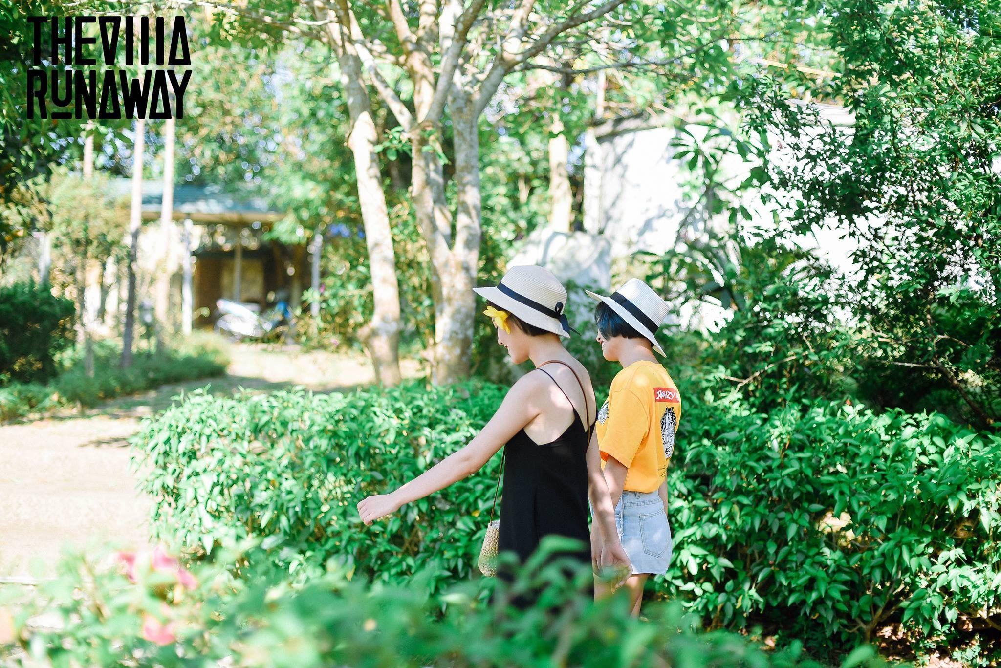 khuon vien the runaway villa zero homestay thach that ha noi