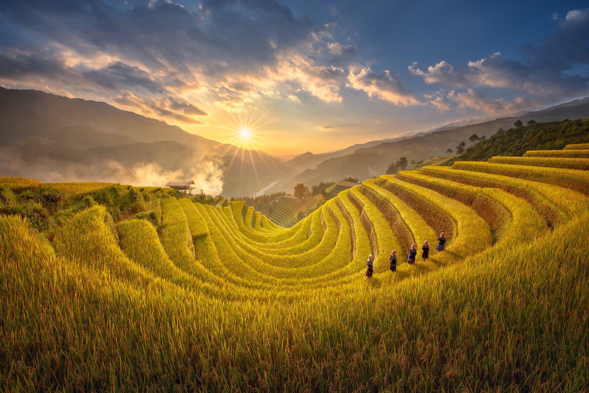 Mù Cang Chải là một trong những địa điểm du lịch Yên Bái nổi tiếng