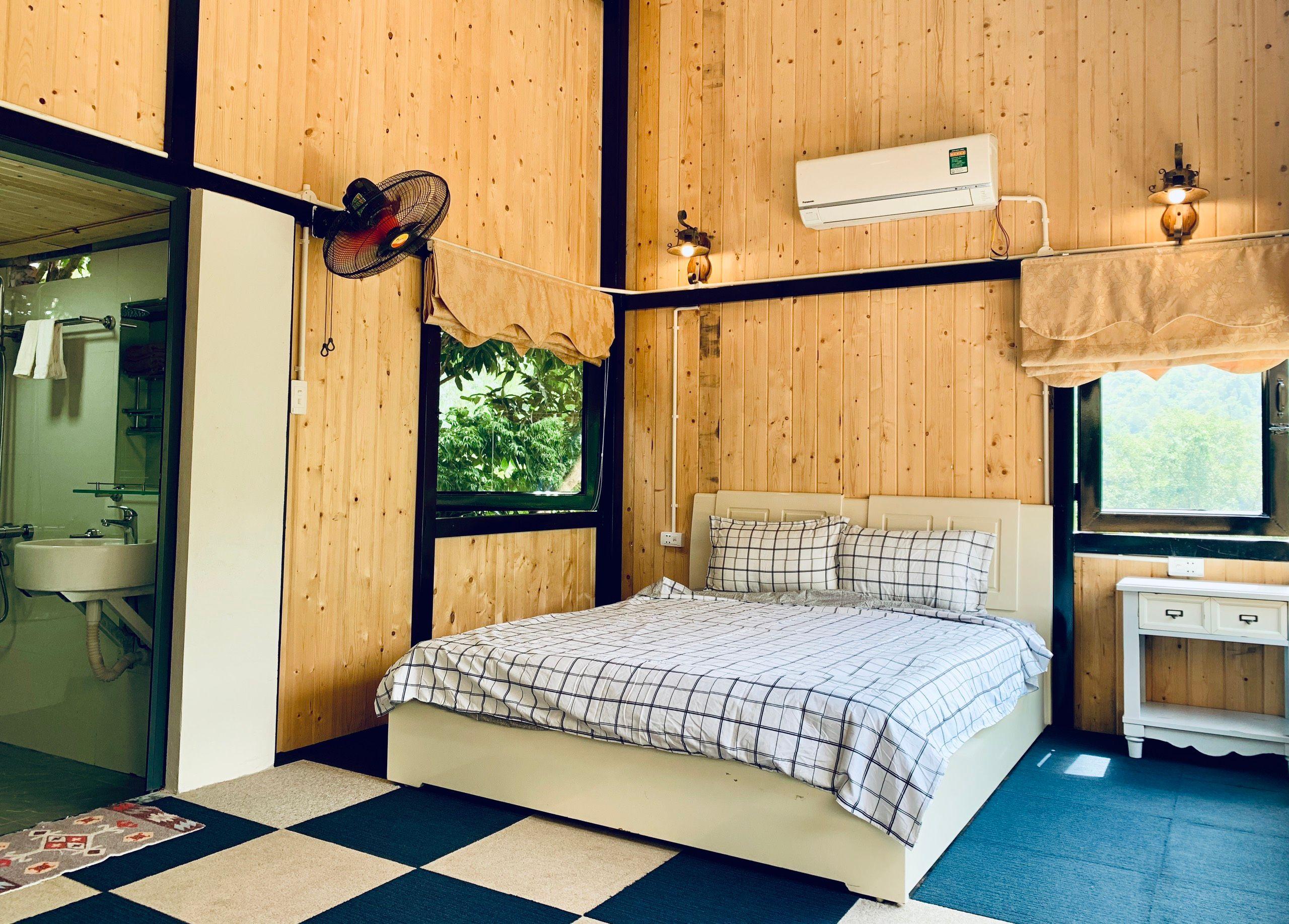 phong ngu venus an garden retreat homestay thach that ha noi