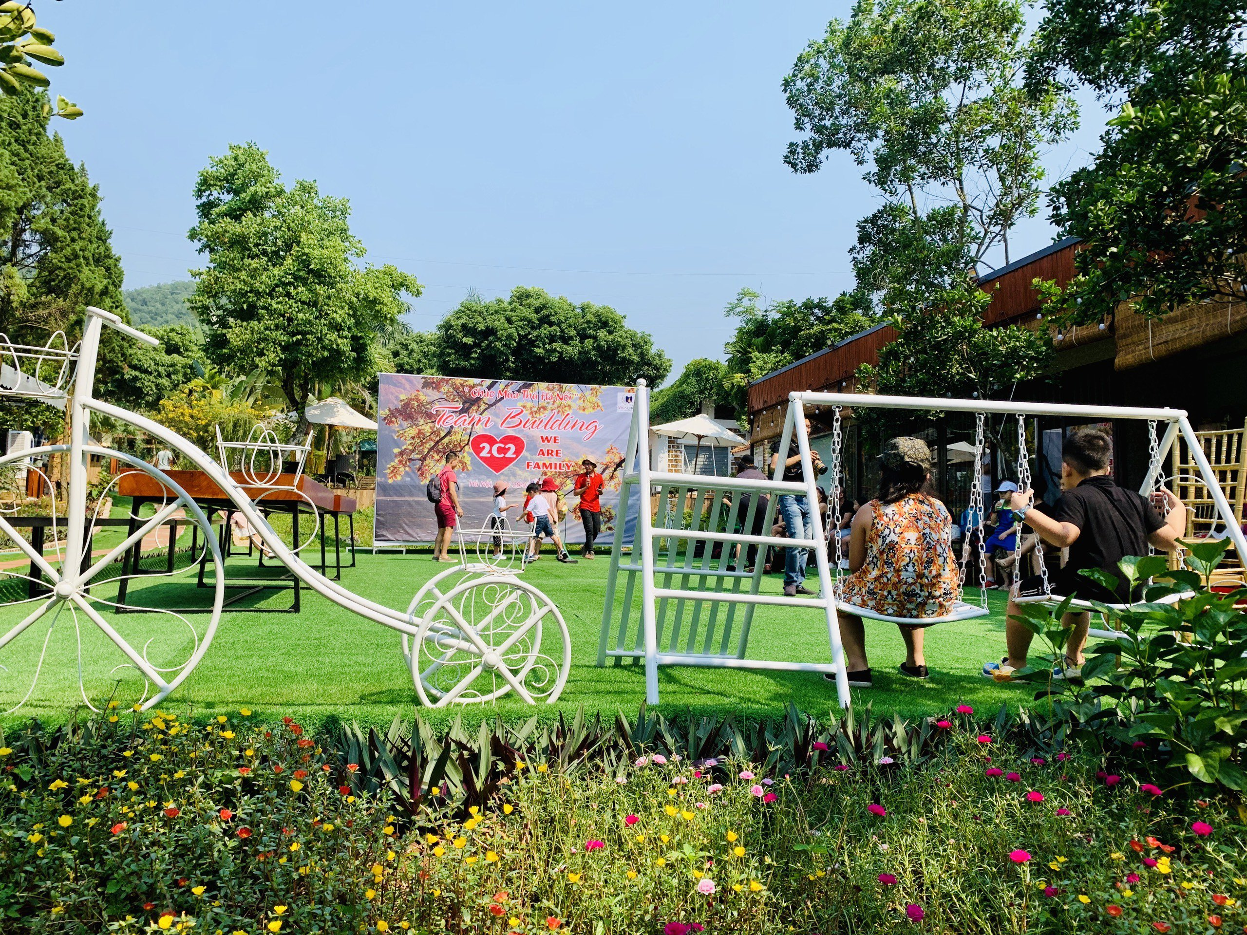 khuon vien sun an garden retreat homestay thach that ha noi