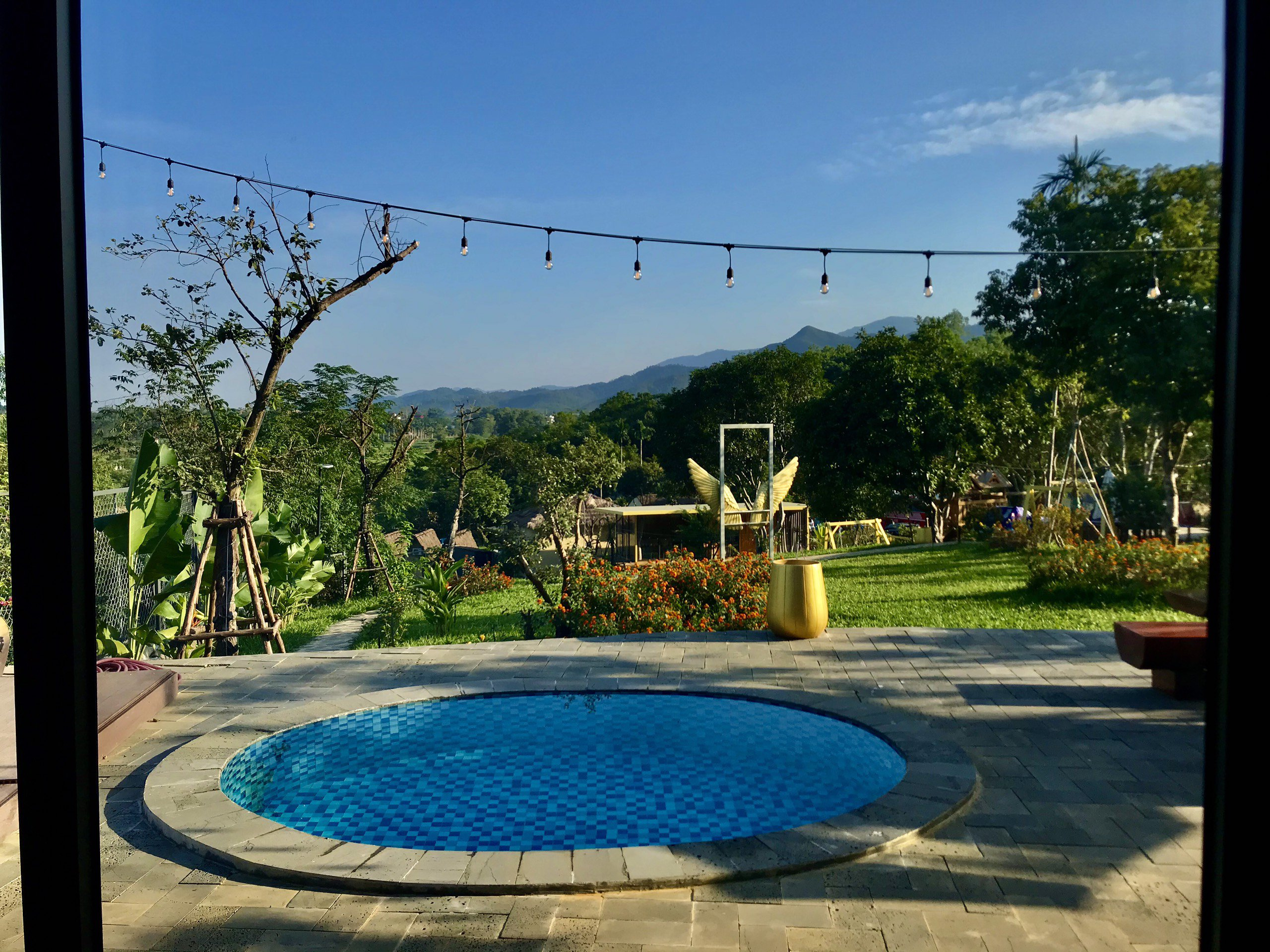 bungalow chill villa homestay ba vi ha noi