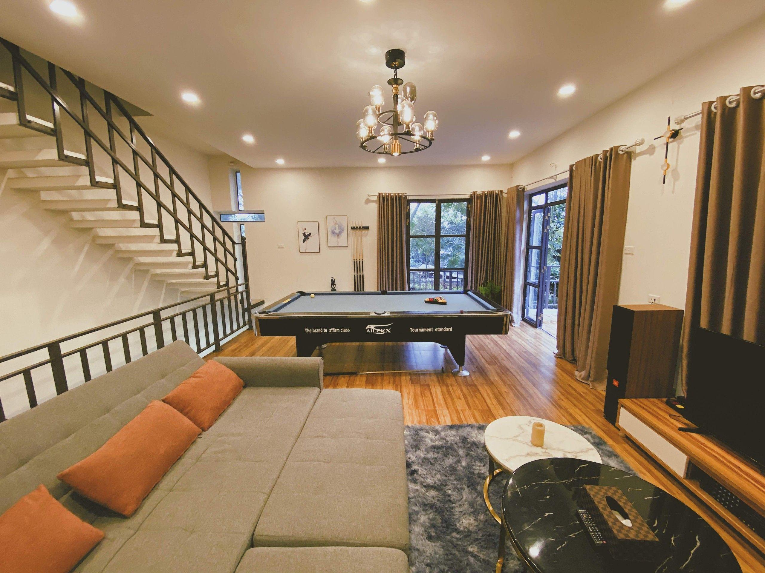 phong khach lv house villa by de vuz homestay hoa binh