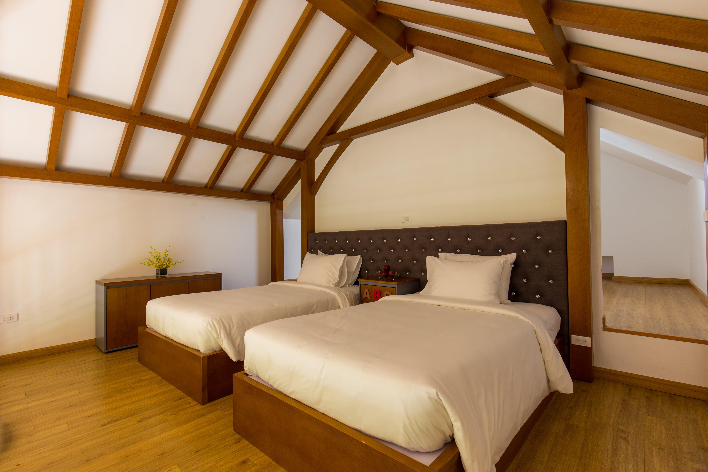 phong ngu executive pool villa xanh villas homestay thach that ha noi