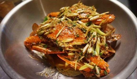 Đồ hải sản tại Crab House