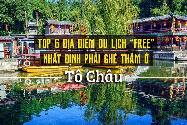 Top 6 địa điểm du lịch Tô Châu miễn phí vé vào cửa