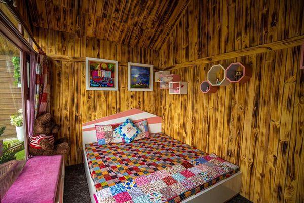 phong ngu roses villa homestay tam-dao vinh phuc