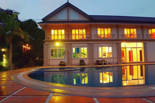 khuon vien green view villa homestay ba vi ha noi