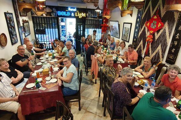 little hanoi restaurant ta hien hang buom hoan kiem