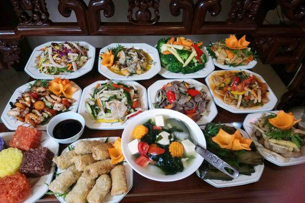 nha hang an phuc vegetarian restaurant hoang cau cho dua dong da