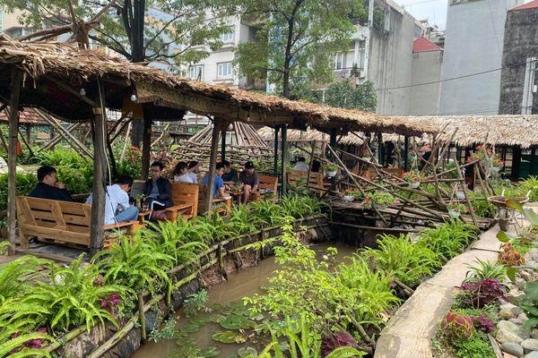 treeami garden cafe nguyen van huyen quan hoa cau giay