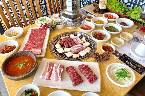 nha hang gaon korean bbq house vincom metropolis lieu giai ba dinh