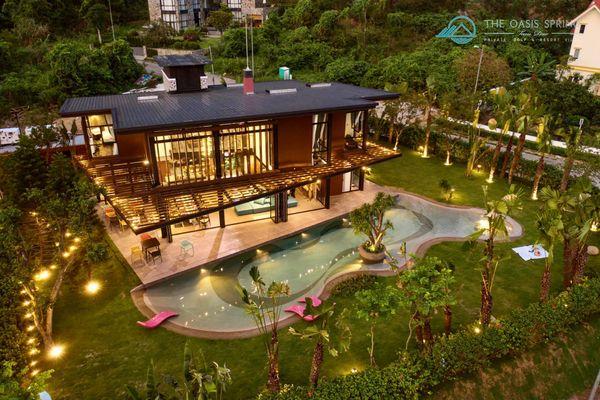 khuon vien oasis spring  villa homestay tam dao vinh phuc