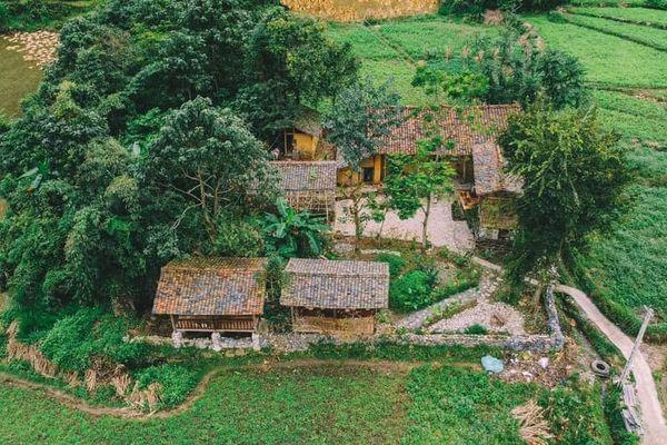 khuon vien lo lo eco house homestay dong van ha giang