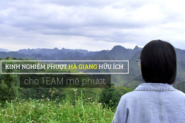 Kinh nghiệm phượt Hà Giang hữu ích cho team mê phượt
