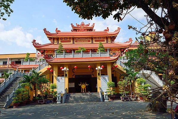 Hướng dẫn tham quan Chùa Phổ Quang, Sài Gòn