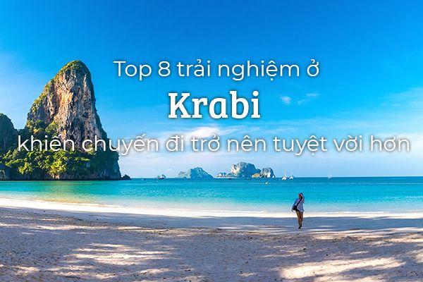 Top 8 trải nghiệm thú vị bạn nên thử ở Krabi