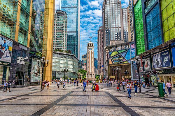 Top 5 địa điểm mua sắm nổi bật ở Trùng Khánh, Trung Quốc