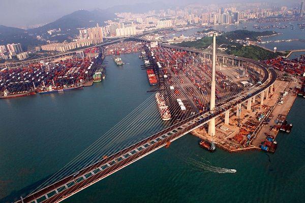 Cầu HongKong là cây cầu vượt biển dài thứ 2 thế giới