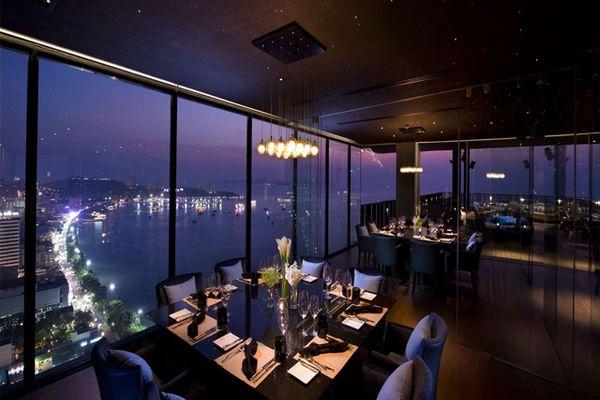 Top 8 quán bar trên sân thượng ở Pattaya, Thái Lan