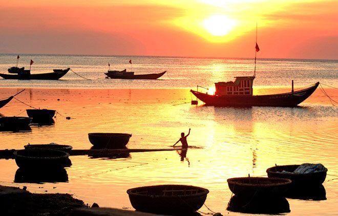 Đây là nơi tuyệt đẹp để ngắm bình mình trên biển Lý Sơn