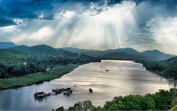 Cảnh đẹp ở đồi Vọng Cảnh