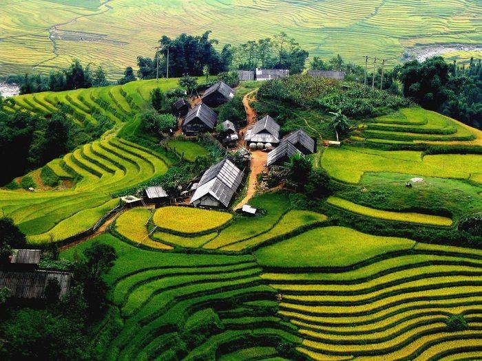 Phong cảnh núi rừng đan xen thơ mộng ở Điện Biên