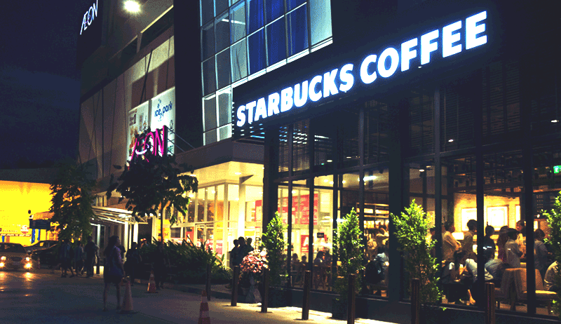 Starbucks AEON Mall