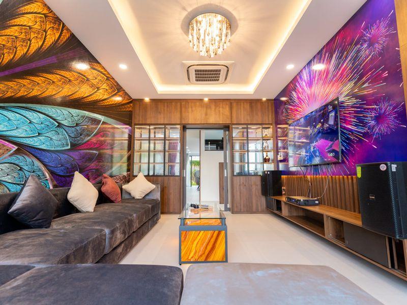 phong karaoke tran duy luxury villa 5 vung tau