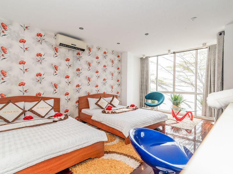 phong ngu seaside palm 21 villa vung tau