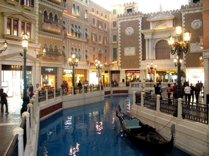 Casino ở Macau được trang hoàng rất đẹp