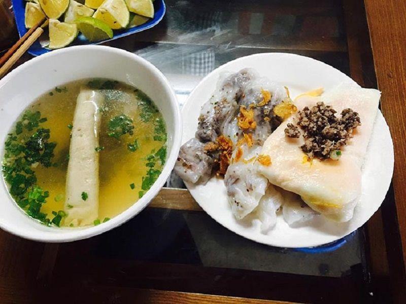 Món bánh cuốn Hà Giang cũng rất được ưa chuộng