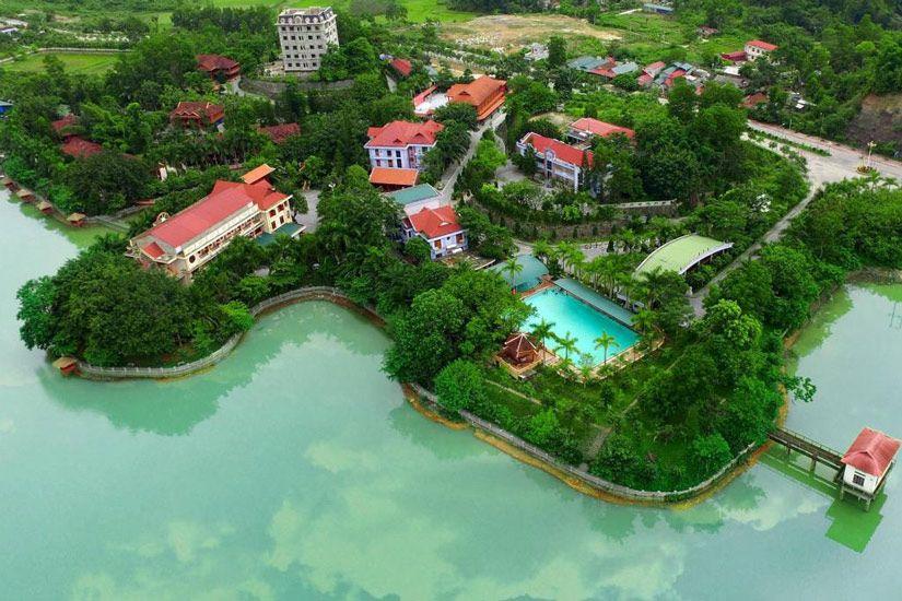 Khách sạn ở Điện Biên cũng rất tiện nghi sạch đẹp