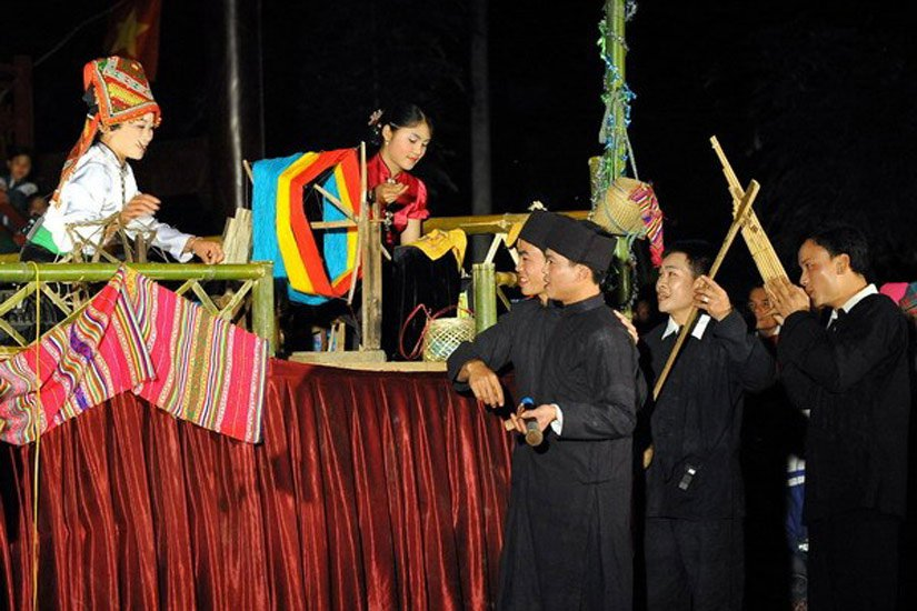 Lễ hội Hạn Khuống của người Thái tại Điện Biên