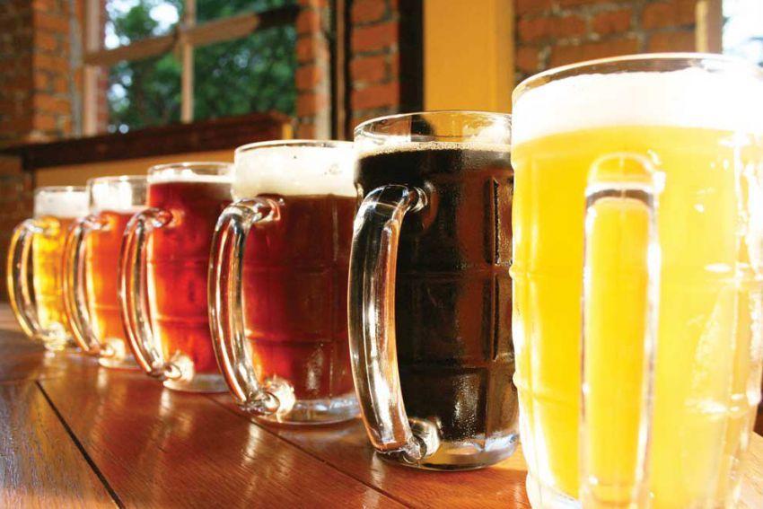Five Men Fresh Beer