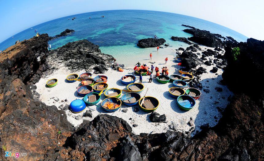 Khu du lịch Đảo Bé đẹp tựa như một thiên đường