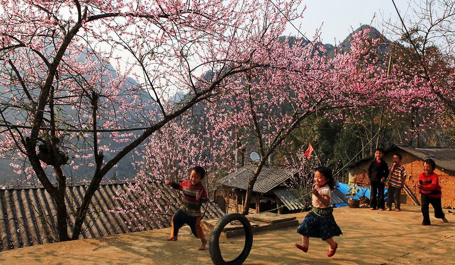 Điện Biên mùa xuân