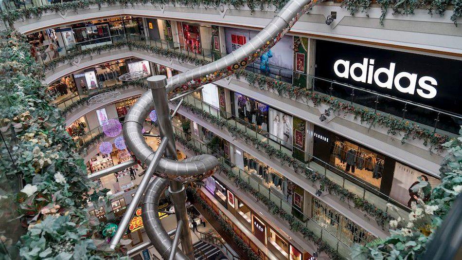 Các trung tâm thương mại là nơi mua sắm tuyệt vời khi đến Thượng Hải