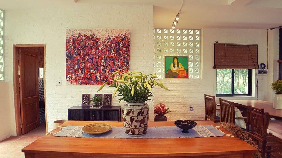 phong khach giang house homestay hoa binh